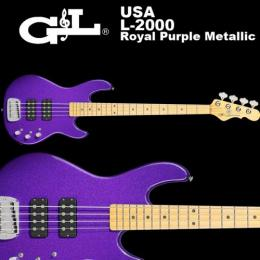 G&L USA Bass L-2000 / パープル