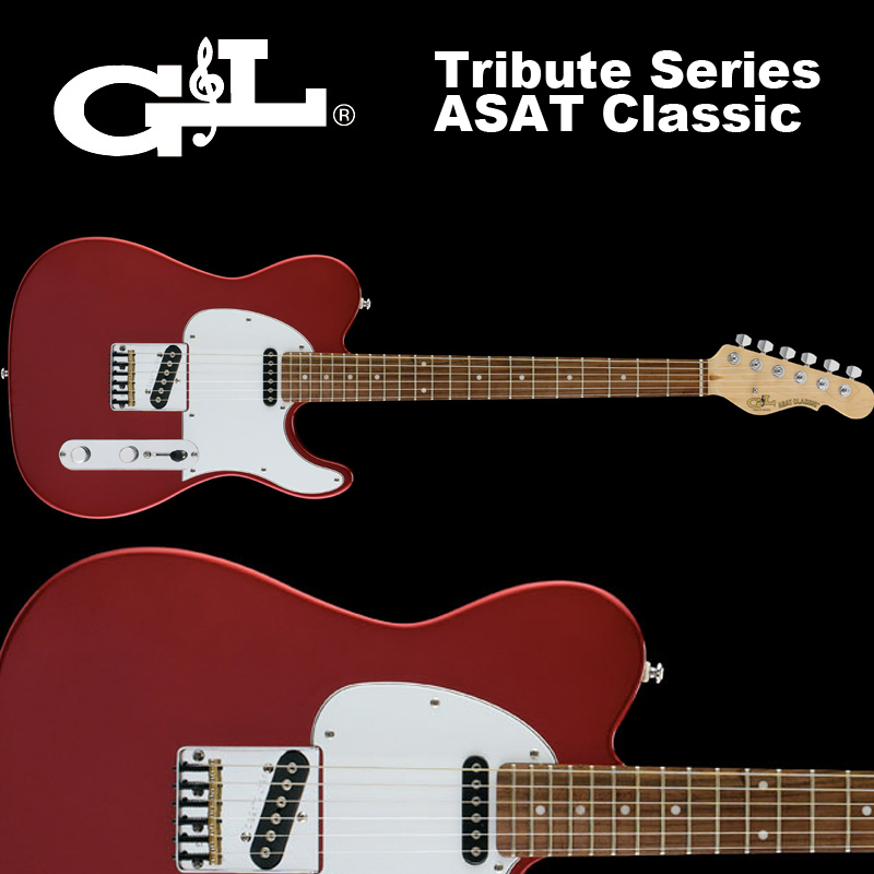 G&L Tribute Series / ASAT Classic Candy Apple Red / トリビュート アサート クラシック