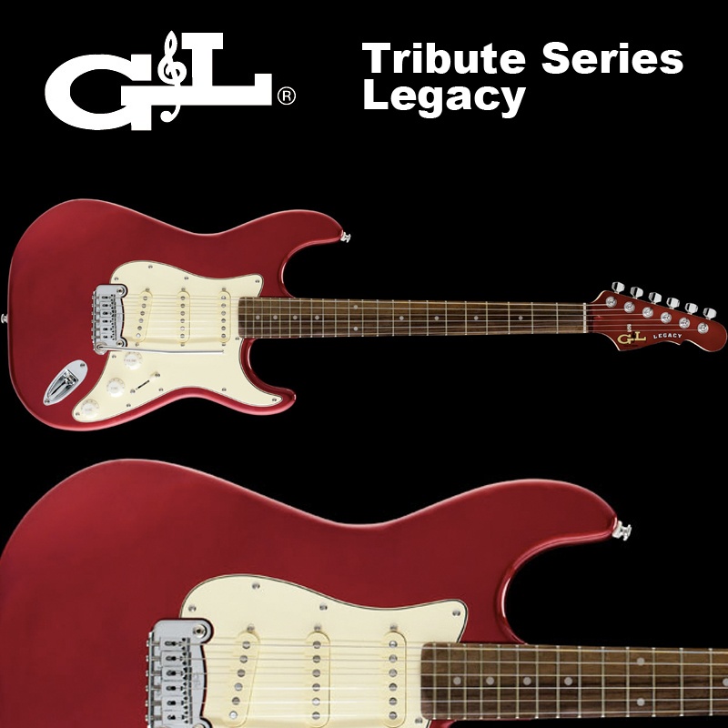 G&L Tribute Series / Legacy Candy Apple Red / トリビュート レガシー レッド