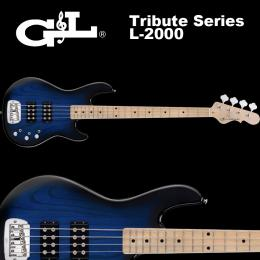 G&L Tribute Series / L-2000 Blueburst / L2000 ベース ブルーバースト