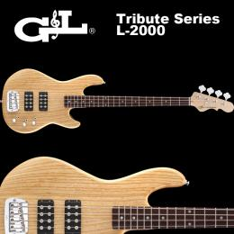 G&L Tribute Series / L-2000 Natural Gloss / L2000 ベース ナチュラル グロス