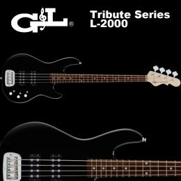 G&L Tribute Series / L-2000 Gloss Black / L2000 ベース グロスブラック