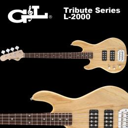 G&L Tribute Series / L-2000 Lefty Natural Gloss / L2000 ベース ナチュラル 左利き用
