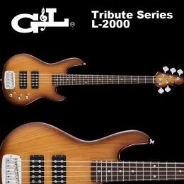 G&L Tribute Series / L-2500 Tobacco Sunburst / L2500 5弦ベース タバコ・サンバースト