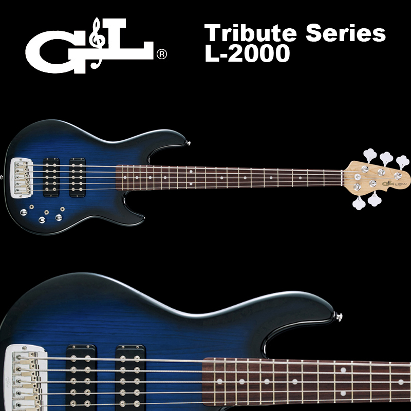 G&L Tribute Series / L-2500 Blueburst / L2500 5弦ベース ブルーバースト
