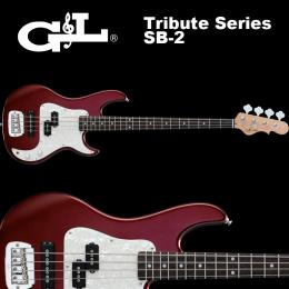 G&L Tribute Series / SB-2 Bordeaux Red Metallic / SB2 ベース レッド
